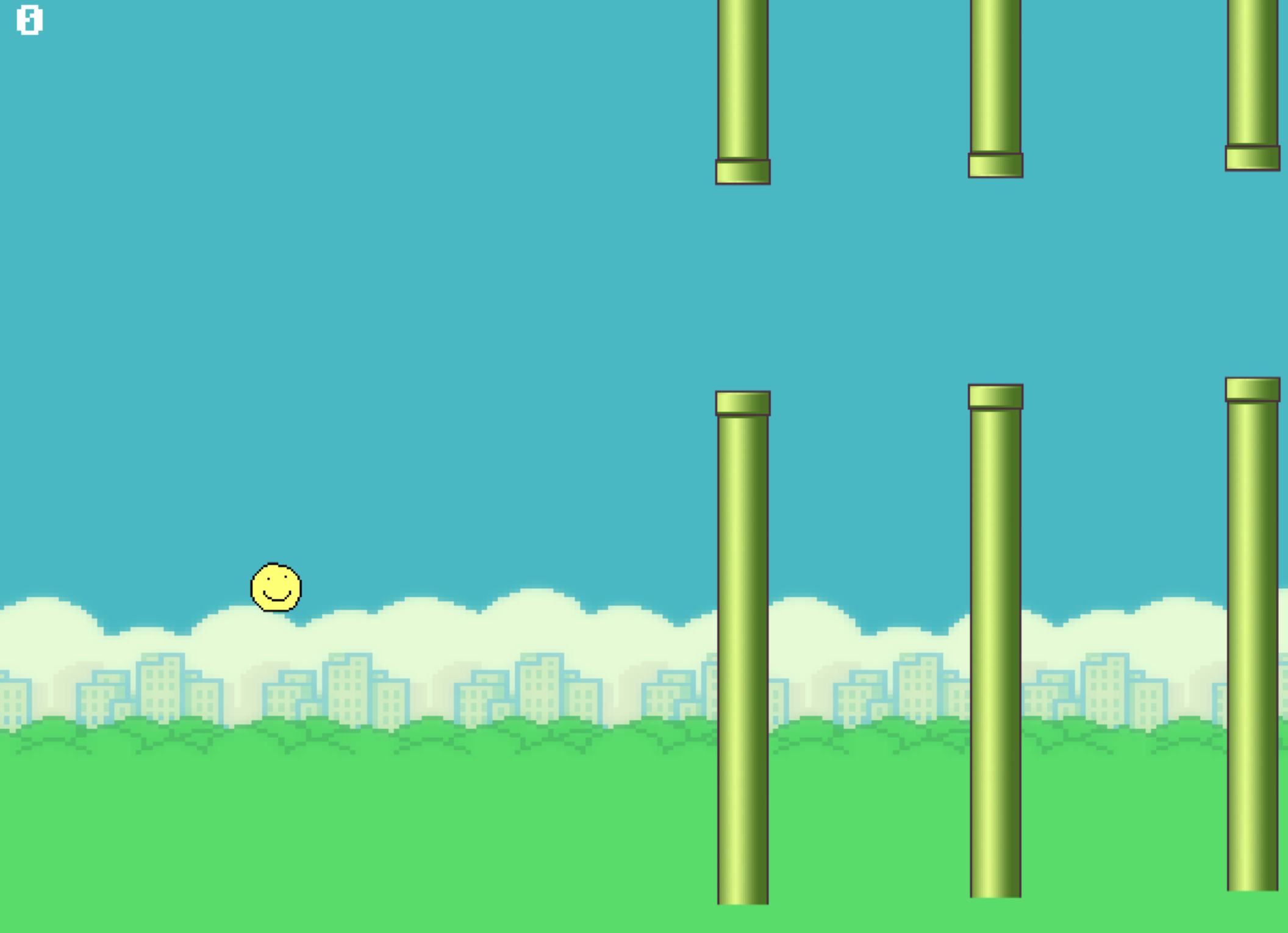 Flappy Mark Game Template (legacy)