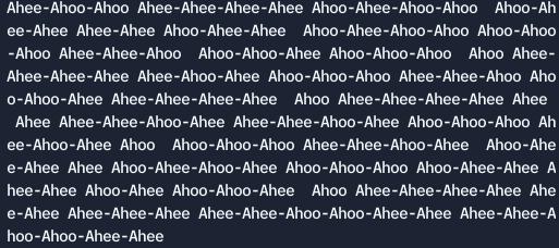 Ahee ahoo encoder decoder