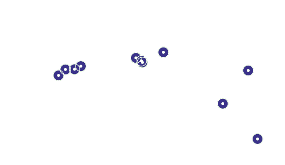 Acronis hosted locations map