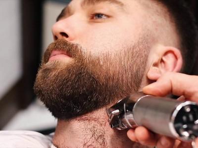 Оформяне на брада с машинка