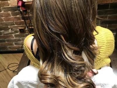 Боядисване на цяла коса с амонячна боя L'Oréal Majirel