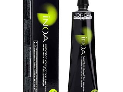 Боядисване на корен с БЕЗамонячна боя L'Oréal Inoa