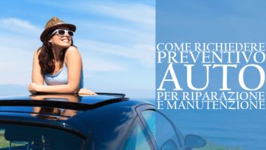 Come richiedere un preventivo auto