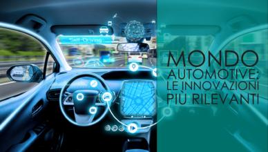 innovazioni mondo automotive