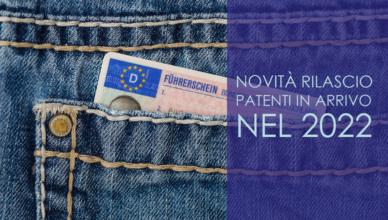 Novità rilascio patenti