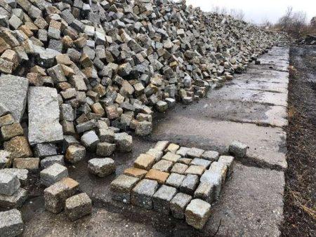 Alte Granit Pflastersteine 18 x 20 Granitpflaster Granitsteine Altstadtpflaster Natursteine