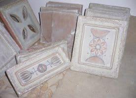 Keramik Ofenkacheln