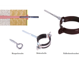 Dübel / Anker für Porenbeton 12x190mm auch Gasbeton Ytong hochporöse Baustoffe