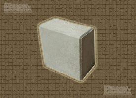 BBloxx-Schnellbaustein | 400 x 400 x 800 mm | Beton-Legostein, Betonblock, Beton-Stapelstein