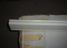 Sockelleistenkabelkanal Novaplast 50x20mm x 2m, weiß, neu