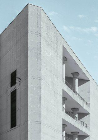 beton gebäude