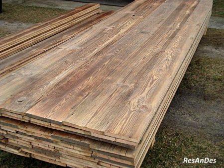 Altholzbrett frei von Nägeln und Säumen