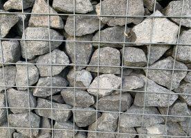 Basaltsteine 80/150 für Gartengestaltung oder Gabionen
