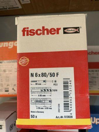 Schlagdübel von Fischer FDN II 6/5, N 6×40 80 60 Mungo und weitere