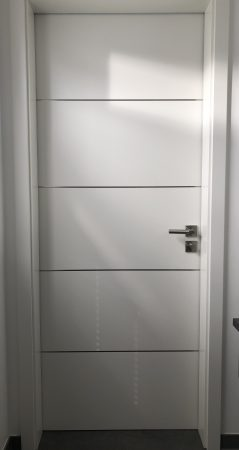 3 (bzw. 7) x RINGO Innentür Perfect 39 Weißlack R2 mit Alu Adern