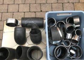 Schnäppchen Geberit Abwassersystem neue Formteile Silent db 20