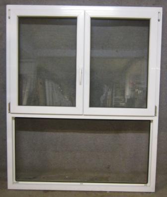 Doppelflügelige Fenster