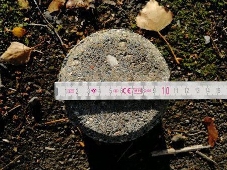 Pflastersteine rund, ca. 2,5m³, Durchmesser 7, 9 und 11cm