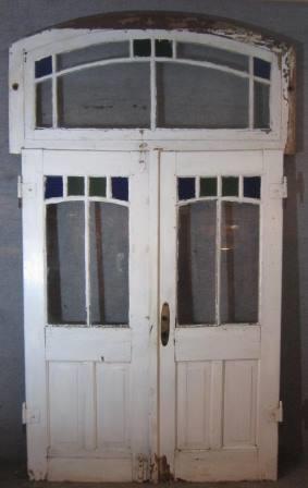 doppelflügelige Haustür