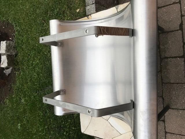 2 neue sehr Hochwertige Kaminhüte/Schornsteinabdeckungen V2A