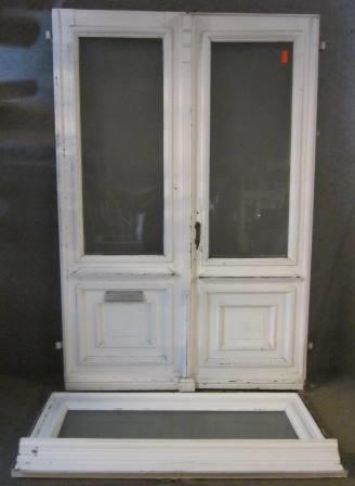 2-flügelige Haustür mit Oberlicht