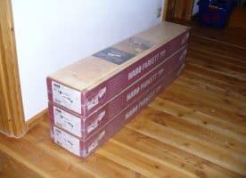Haro Parkett 2500 Buche Schiffsboden 3-Stab, matt versiegelt