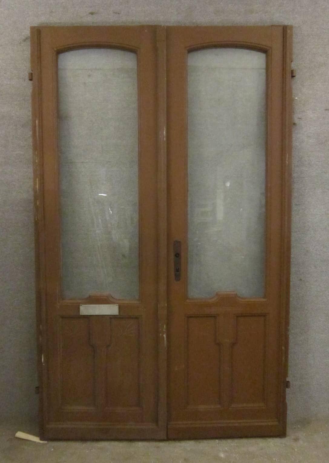 Haustür, zweiflügelig