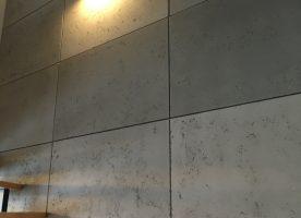 Platten aus architektonischem Beton