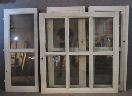 Verschiedene Fensterflügel