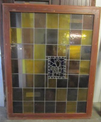 Festverglastes Bleiglasfenster