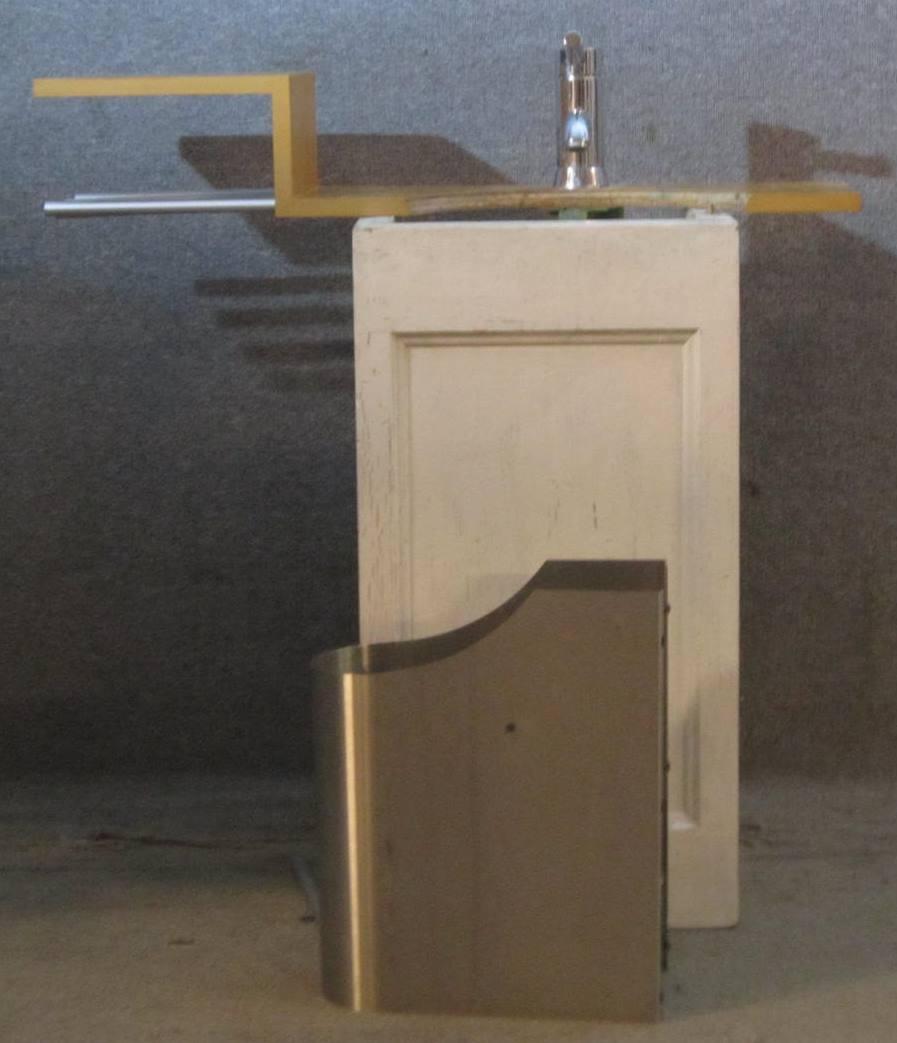 Halterung für Waschbecken
