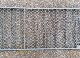 Aco Streckmetallrost für Lichtschacht 80x40cm