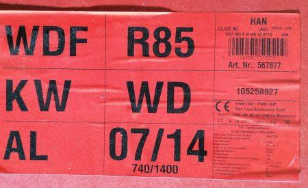 Roto Dachfenster WDF R85 KWD 07/14 blue, weiß 74×140 cm