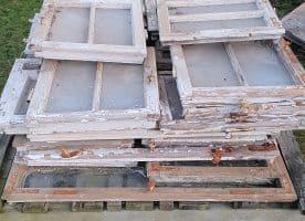 alte Holzfenster historisch