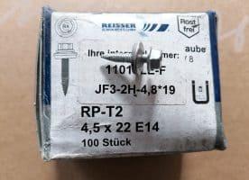 Bohrschraube JF3-2H 4,5x19mm Edelstahl 100 St. / Pak.