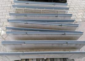 Anrin Entwässerungsrinnen KE-100 ohne Roste NR. 16/17/18/19/20