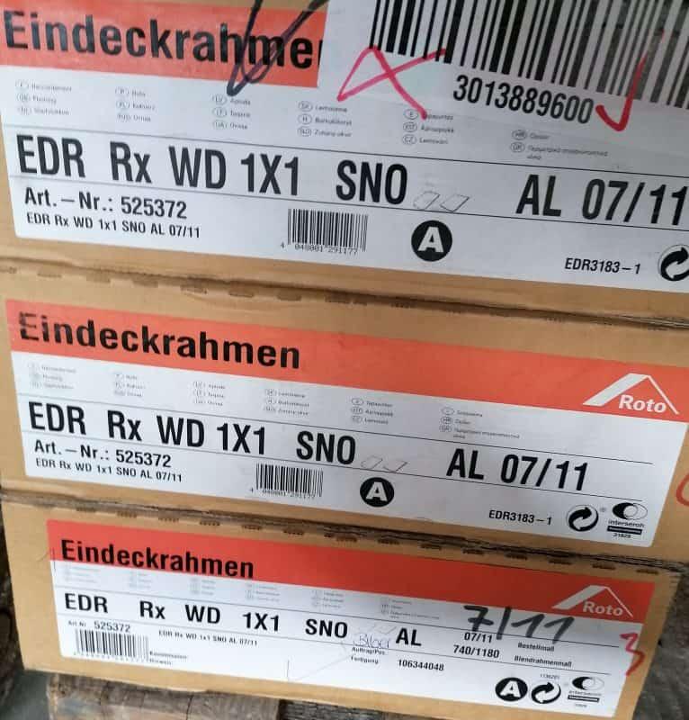 Roto Eindeckrahmen RxWD 07/11 Schiefer SNO