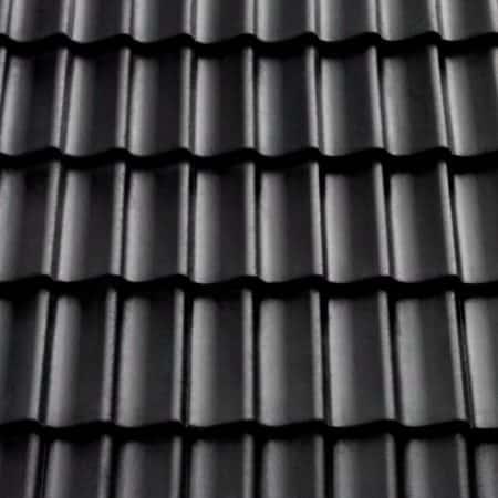 B12P schwarz perla Betondachstein – Restbestand – Schnäppchen