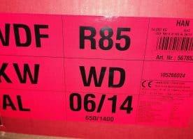 Roto Klapp-Schwingfenster WDF R85 KWD 06/14 blue, weiß 65x140 cm