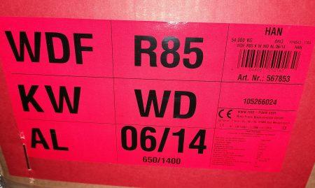 Roto Klapp-Schwingfenster WDF R85 KWD 06/14 blue, weiß 65×140 cm
