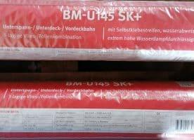 Butler BM-U 145 SK+ Unterdeckbahn mit Klebestreifen 1,50x50m