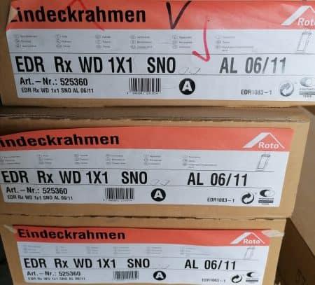 Roto Eindeckrahmen RxWD 06/11 Schiefer