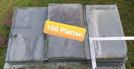 alte Schieferplatten