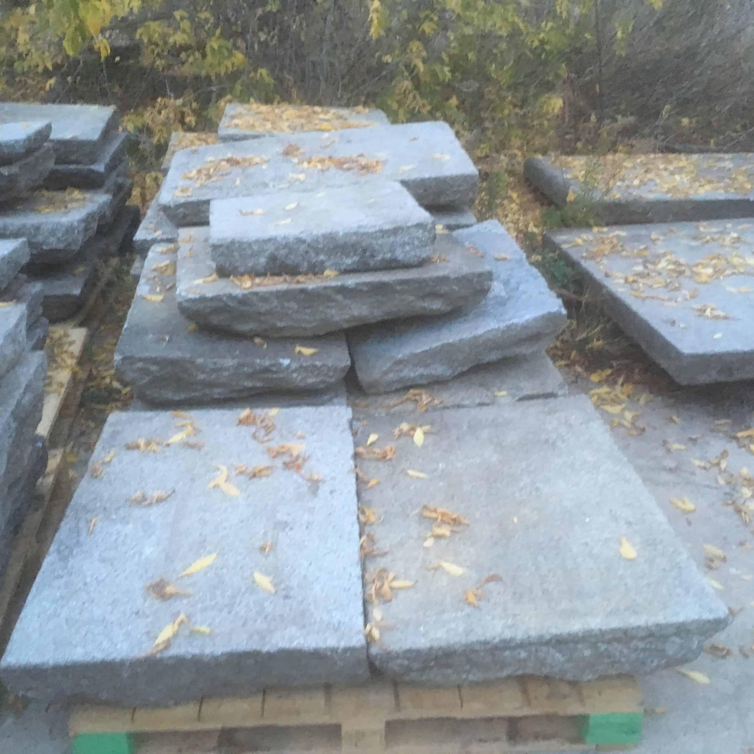 Granitplatten, Granit Gehwegplatten