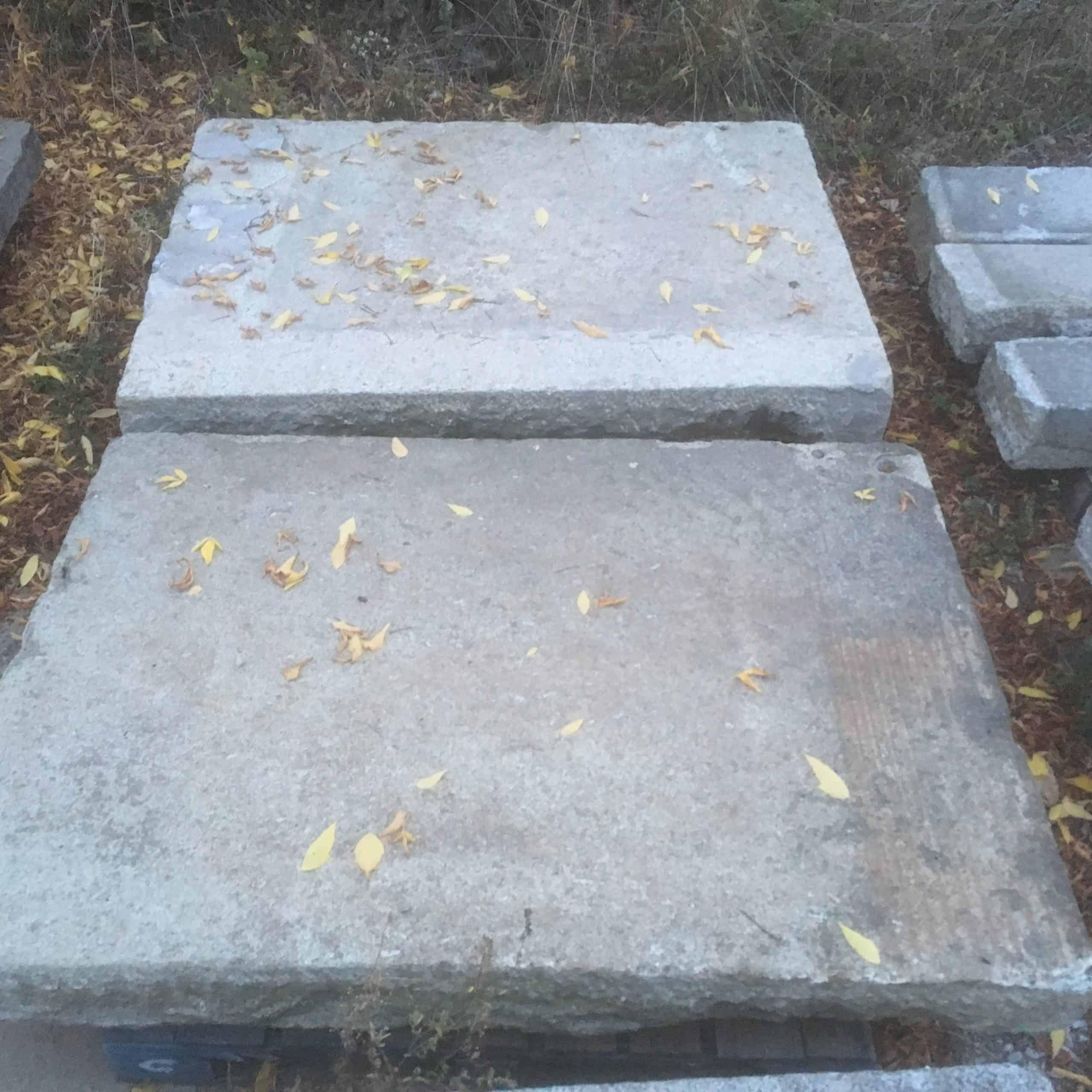 Granitplatten, Granit Gehwegplatten, Gredplatten