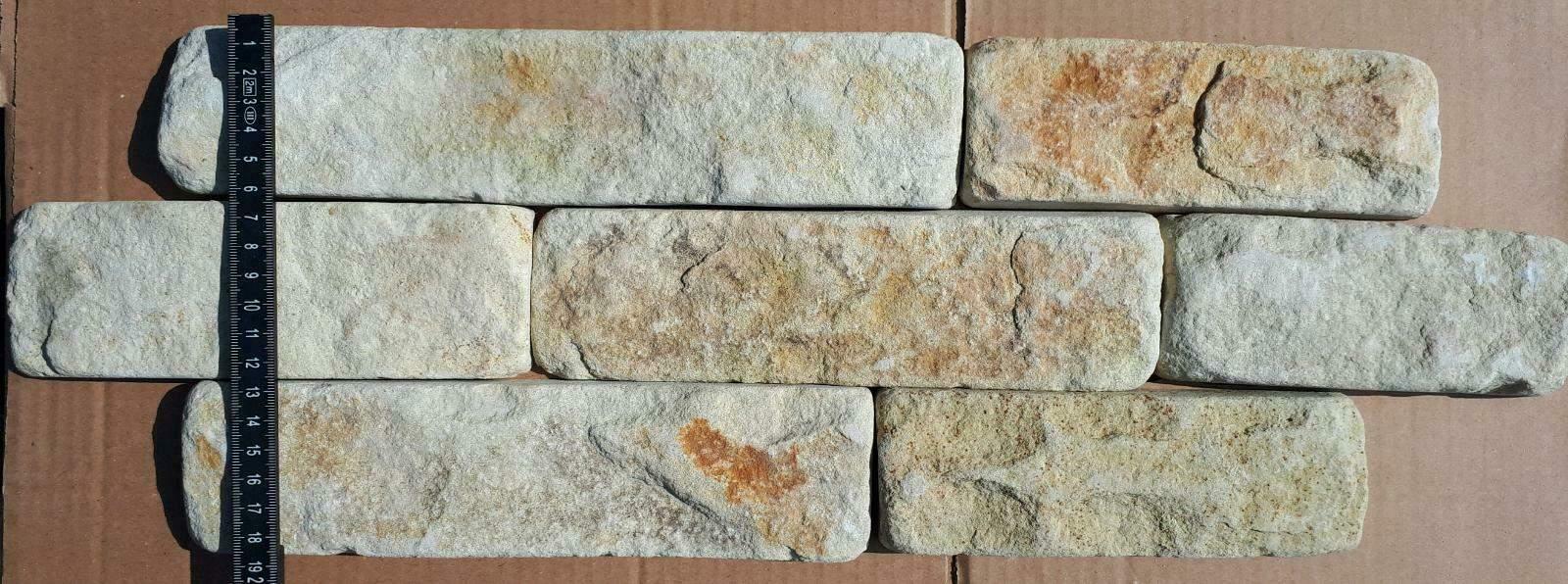 CINDY Wandverblender Riemchen Sandstein Klinker