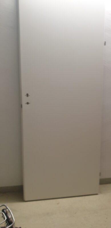 Türblatt 860 x 2110 mm CPL RAL 9016 weiß rechts