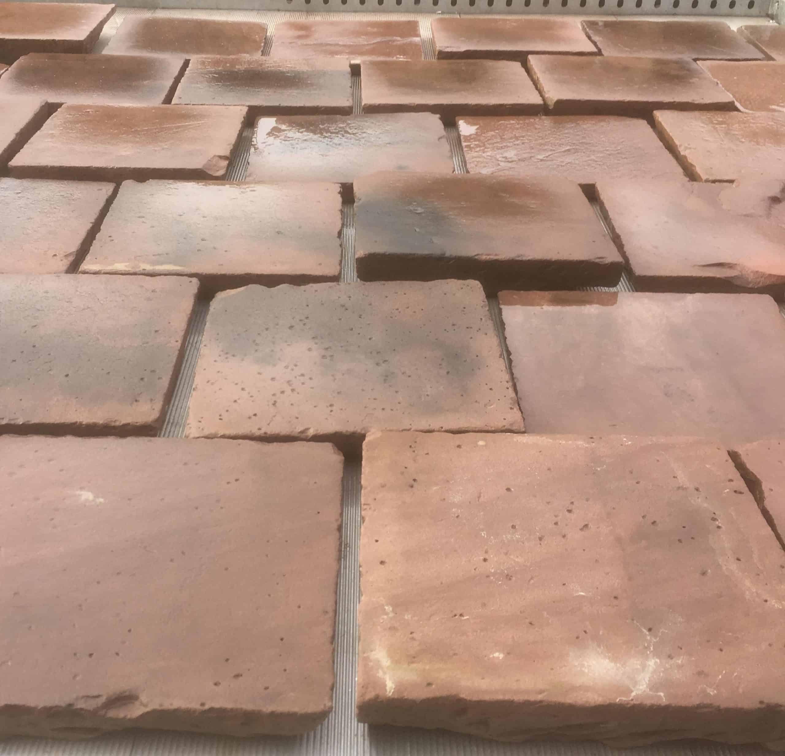 Wesersandstein/ Mainsandstein quadratische Platten