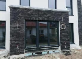 Riemchenverblender - Optik wie echte Klinker - aus Beton