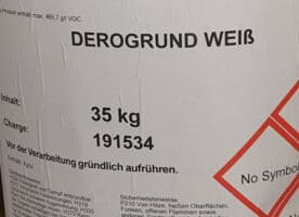 Rostschutz Grundierung weiß 35 kg